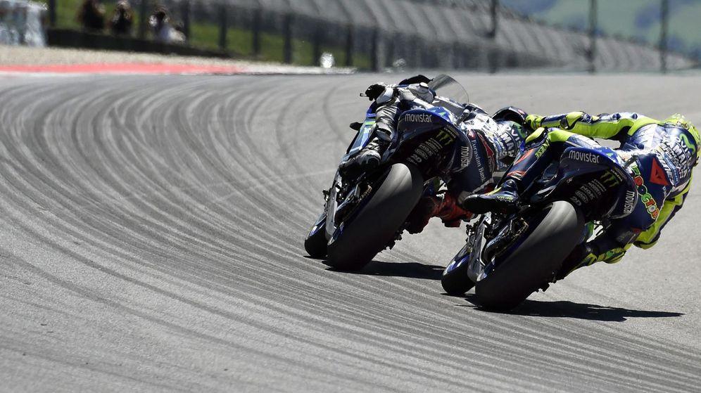 Foto: Los problemas de las Yamaha en Mugello fueron electrónicos (Claudio Onorati/EFE/EPA)