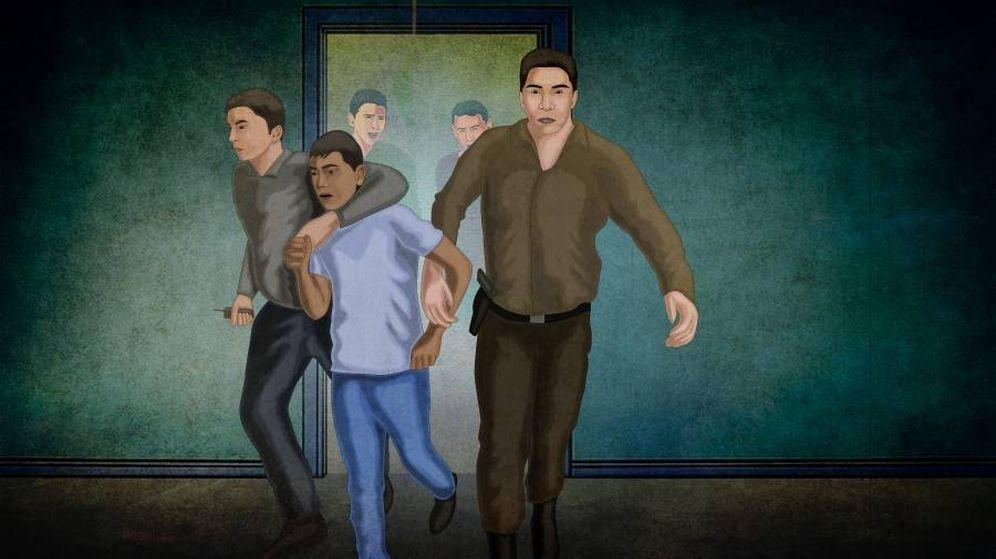 Foto: Ilustración: Mohamed El Magdy, HRW