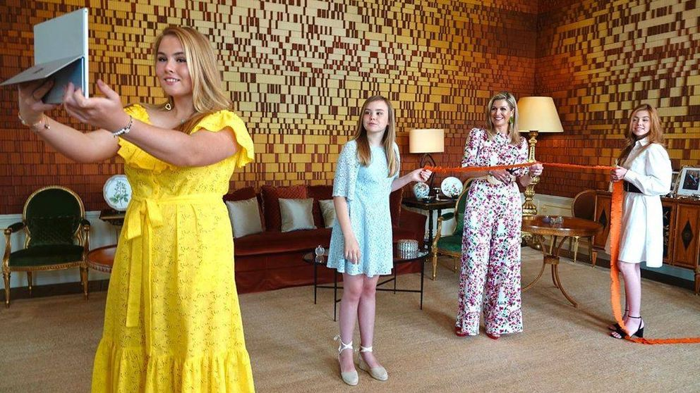 El estilo de las hijas de Máxima de Holanda, en las antípodas del de Leonor y Sofía