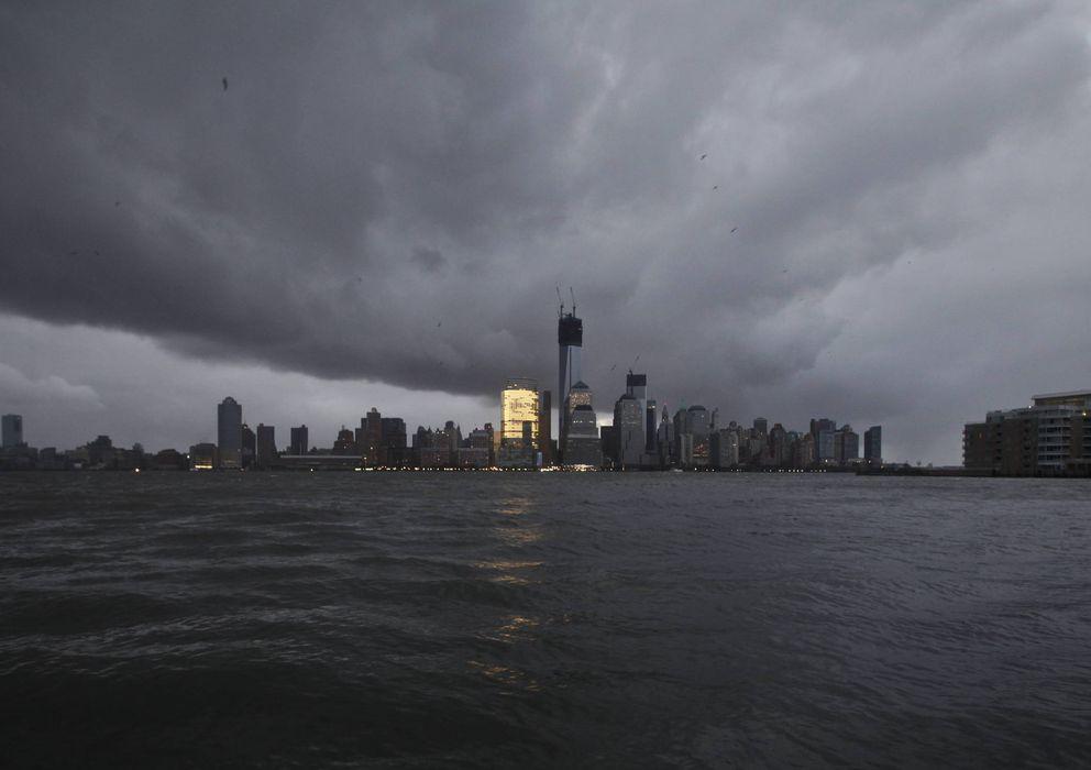 Foto: Apagón en Nueva York tras el paso de un huracán (EFE)