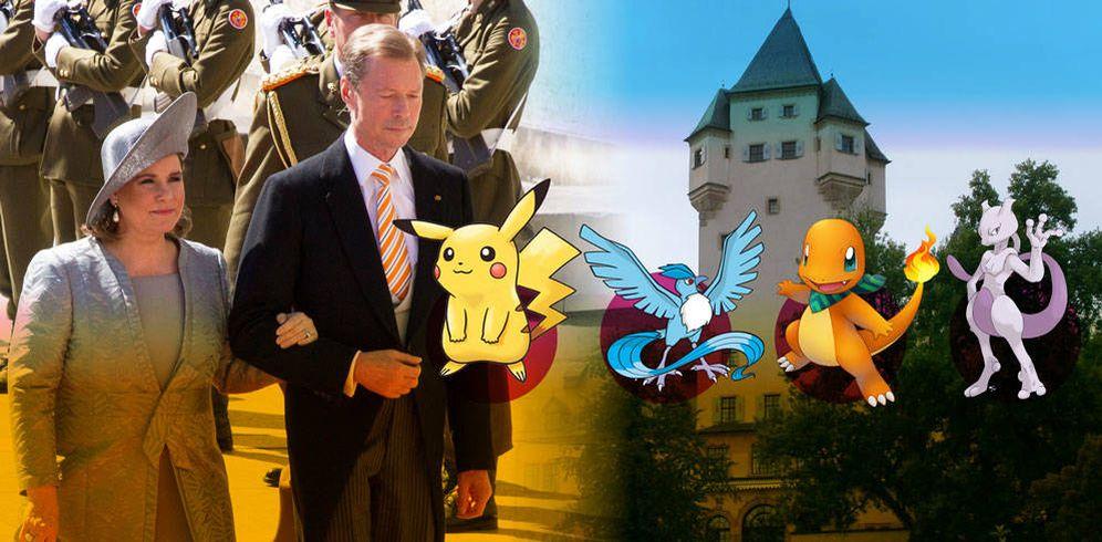 Foto: Los grandes duques de Luxemburgo en un fotomontaje de Vanitatis