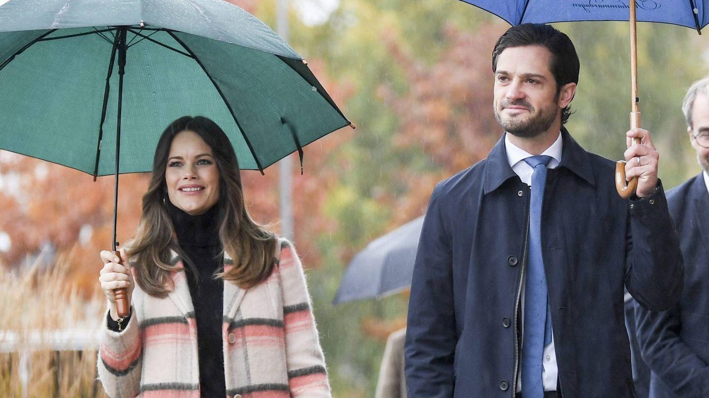 Los príncipes Carlos Felipe y Sofía. (Cordon Press)