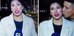 Post de Condenado por abuso sexual el joven que besó, en directo, a una reportera canaria