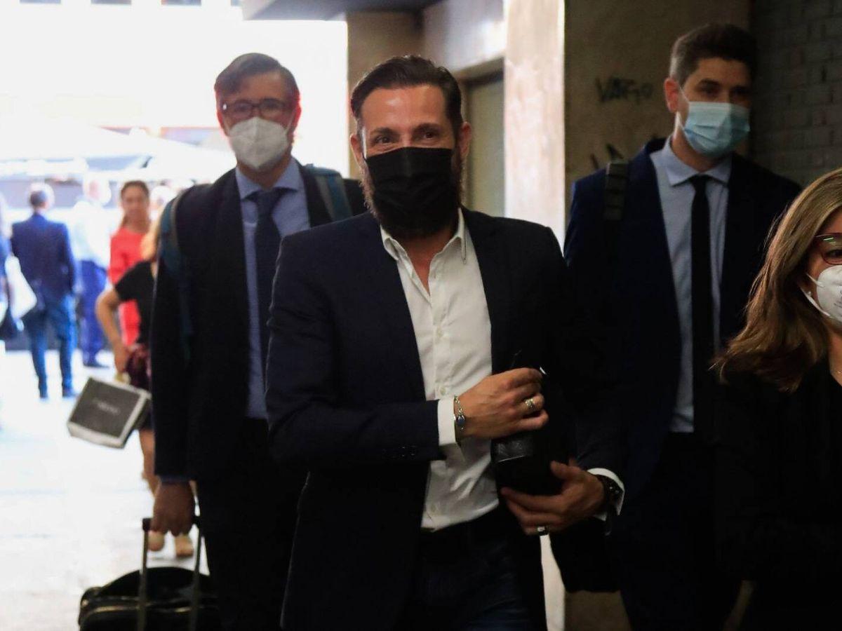 Foto: Antonio David Flores, llegando a los juzgados de Madrid. (Gtres)