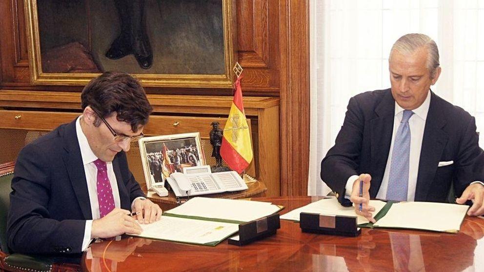 La ONCE y la Guardia Civil firman un acuerdo en favor de los discapacitados