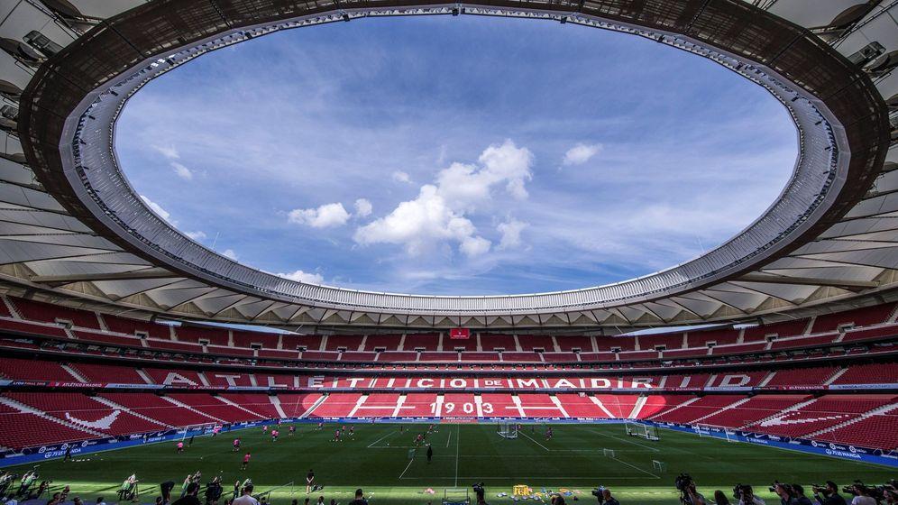 Foto: El estadio Wanda Metropolitano. (EFE)