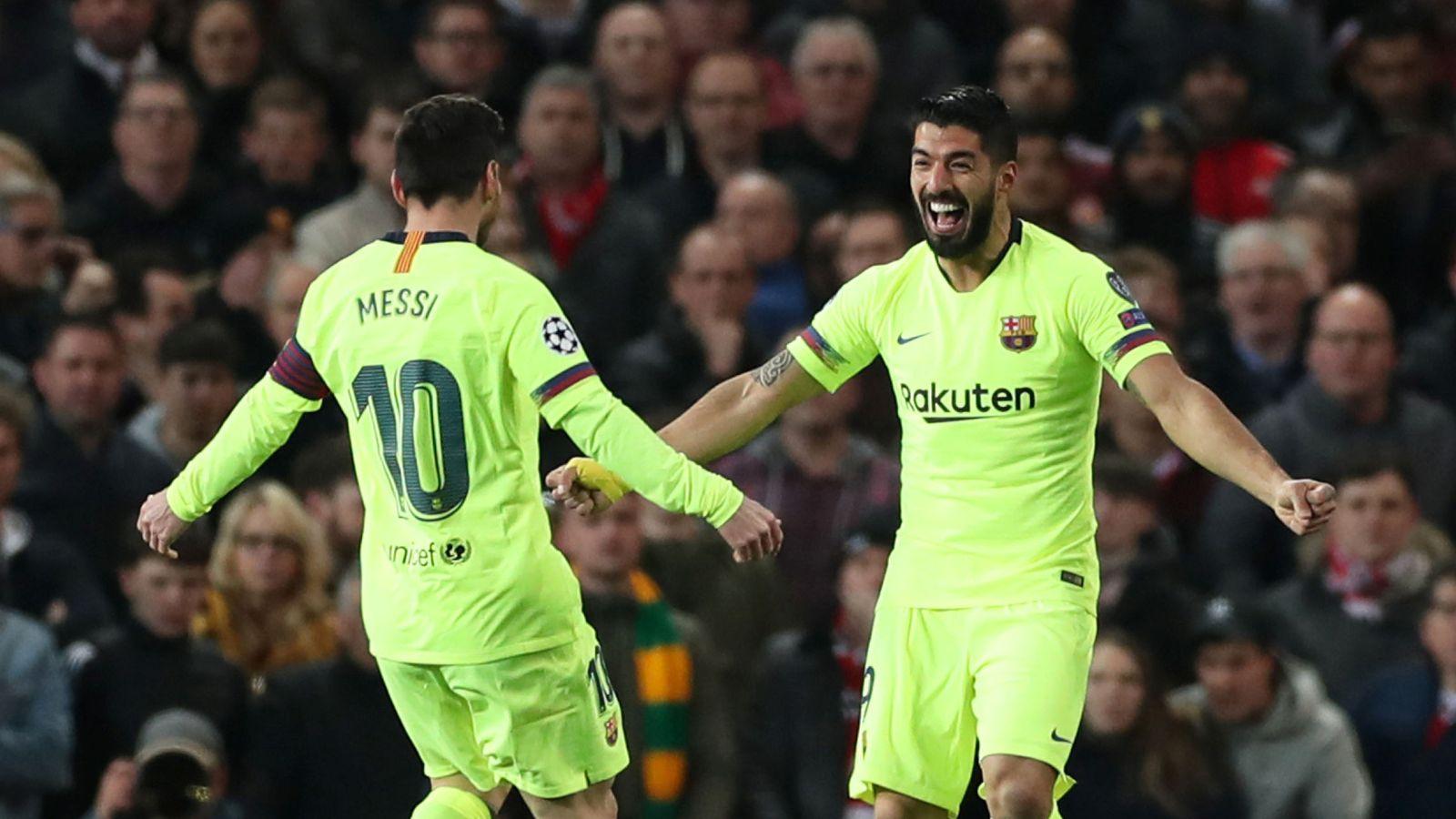 Foto: Champions league quarter final first leg - manchester united v fc barcelona