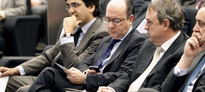 Foto: José María Roldán (centro) en una imagen de 2011 (Efe)