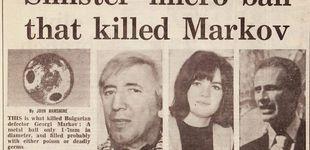 Post de Un paraguas envenenado sobre el Támesis: así se mataba en la Guerra Fría
