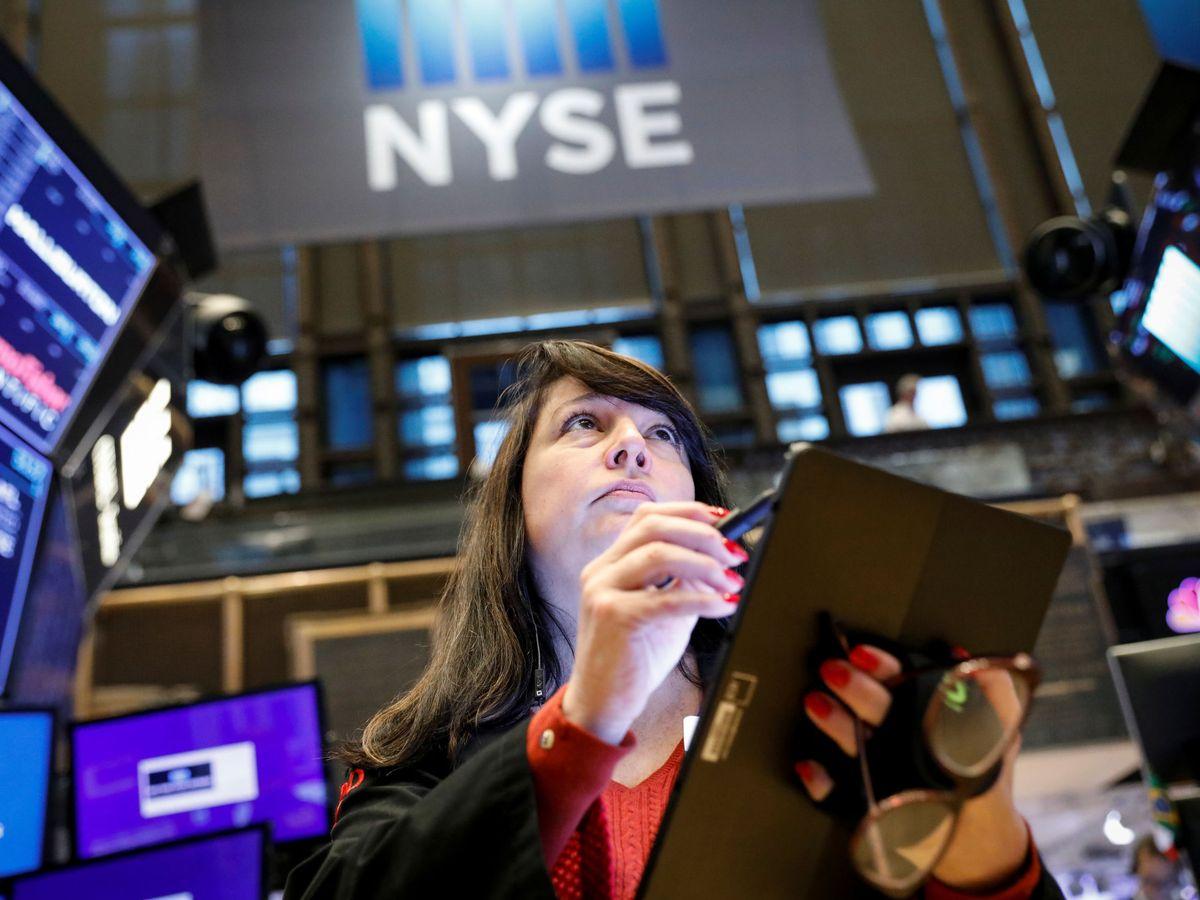 Foto: Una 'trader' en Nueva York. (Reuters)