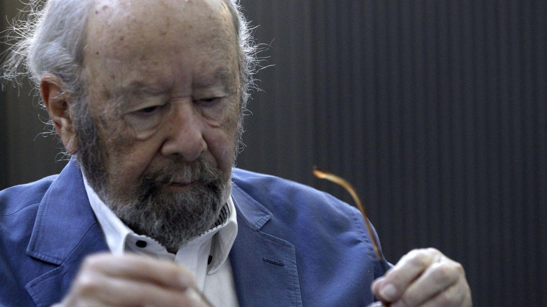 Foto: El poeta gaditano José Manuel Caballero Bonald, Premio Cervantes 2012. (EFE)