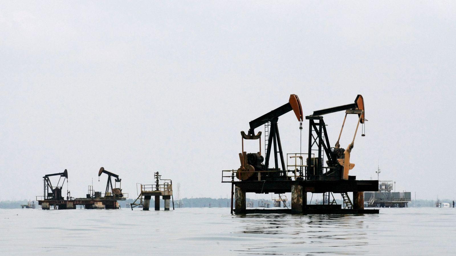 Foto: Extracción de petróleo en Venezuela. (Reuters)