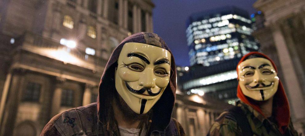 Foto: Anonymous le declara la guerra a los terroristas tras el ataque a 'Charlie Hebdo'