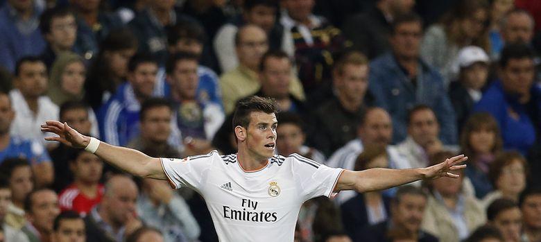 Foto: Gareth Bale, durante un partido disputado con el Real Madrid (Reuters)