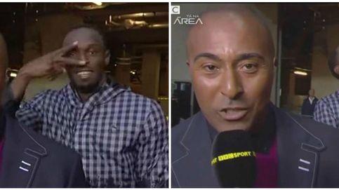 Reporteros del mundo: ¡cuidado con el gran humor del atleta Usain Bolt!