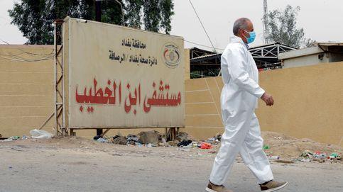 Al menos 92 muertos en un incendio en un ala de aislamiento covid de un hospital iraquí