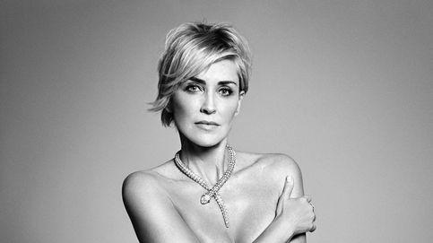 Sharon Stone revisa su 'Instinto básico' posando desnuda para una revista