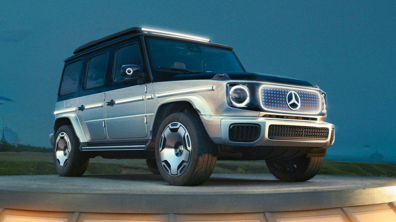 Mercedes-Benz Concept EQG (Mercedes Benz)