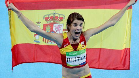 Beitia corona su carrera con un oro olímpico, el primero de una española