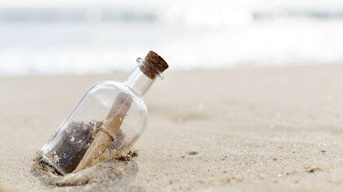 Descubren un mensaje en una botella que llevaba flotando en el mar dos años