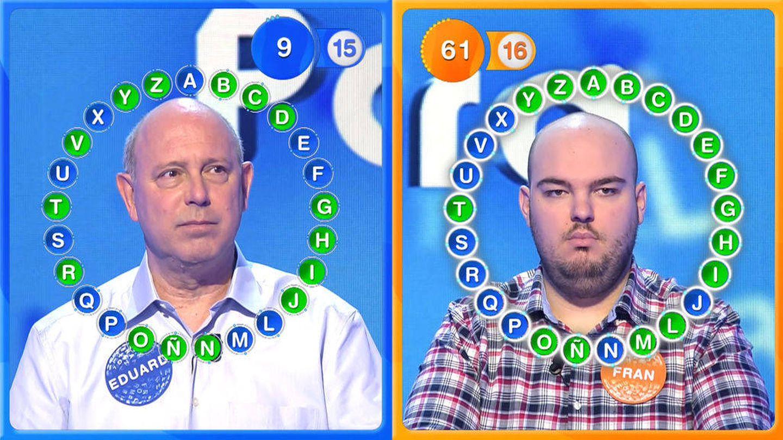 Fran logró vencer a Eduard el pasado viernes. (Mediaset)