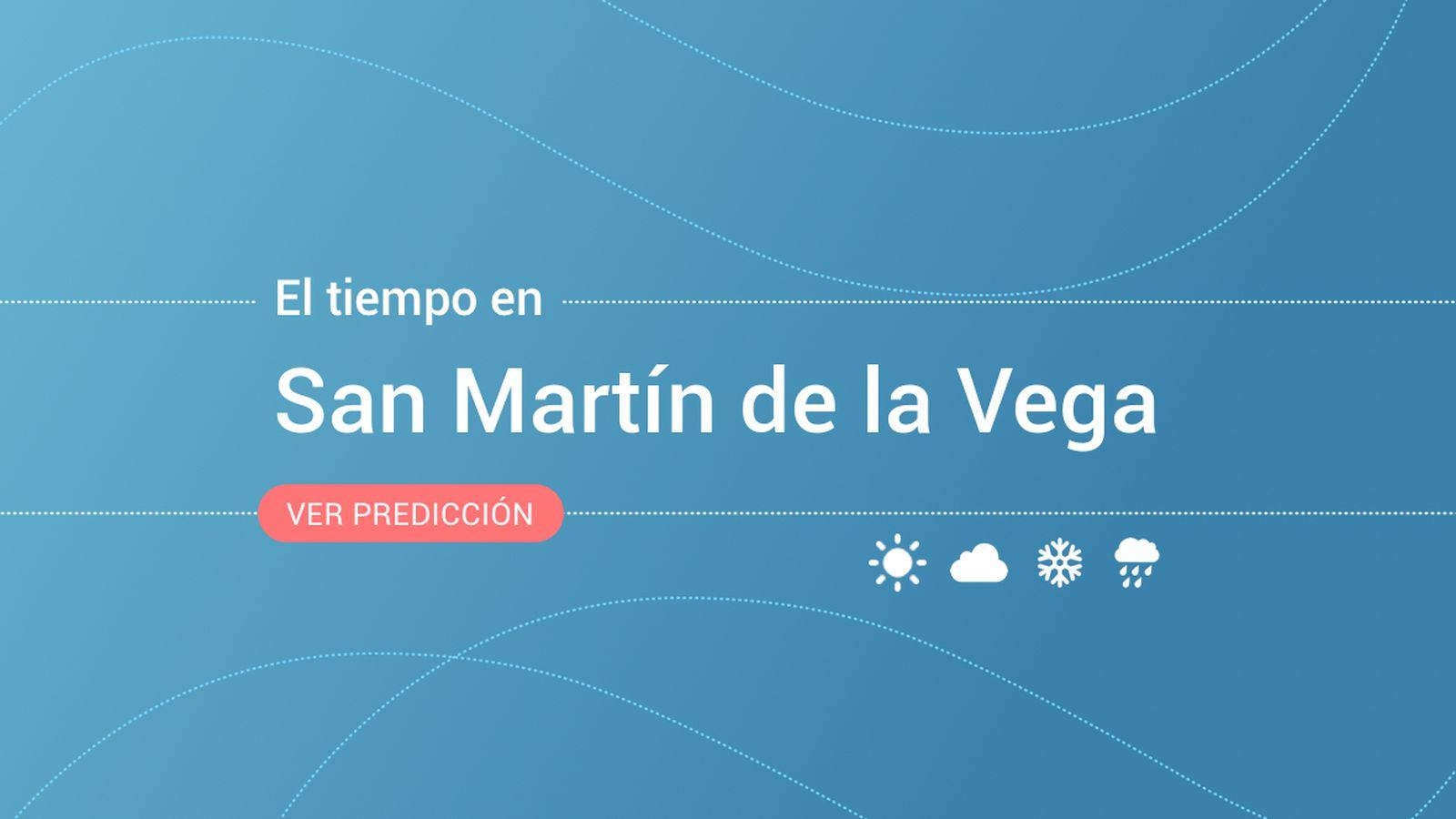 Foto: El tiempo en San Martín de la Vega. (EC)