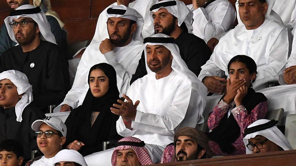 Foto: El jeque Mohamed Bin Zayed, príncipe heredero de Abu Dabi. (EFE)