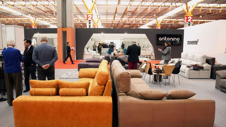 Foto: Una feria del mueble. (EFE)