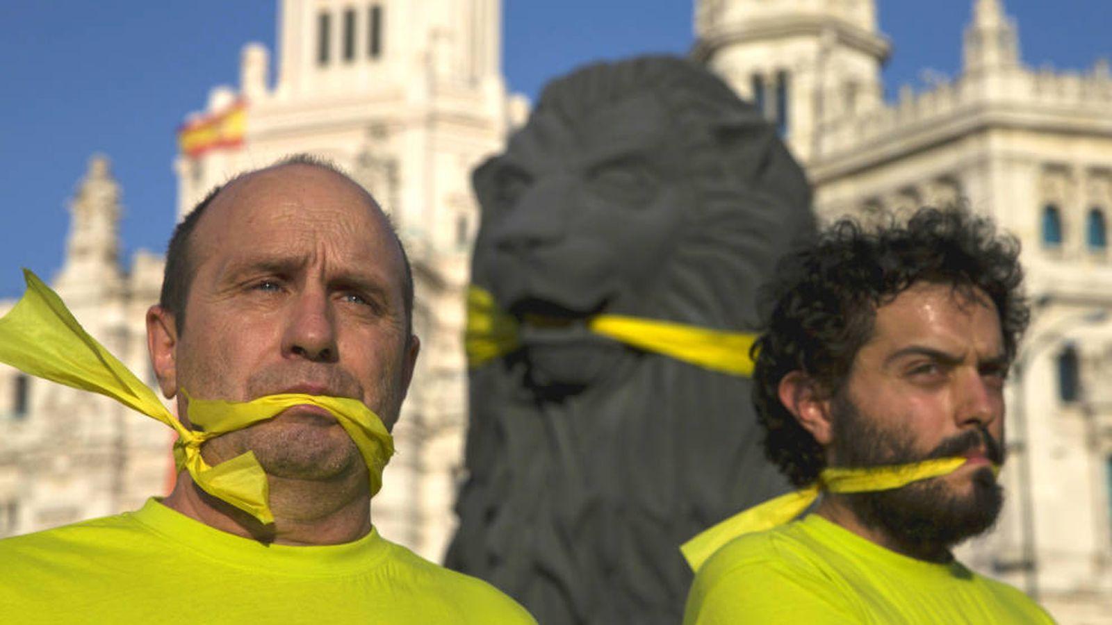 Foto: Protestas contra la 'ley Mordaza' en Madrid. (Reuters)