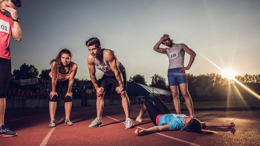 Foto: ¿Qué pasa con nuestro cuerpo si no dejamos de someterle a un gran esfuerzo? (iStock)