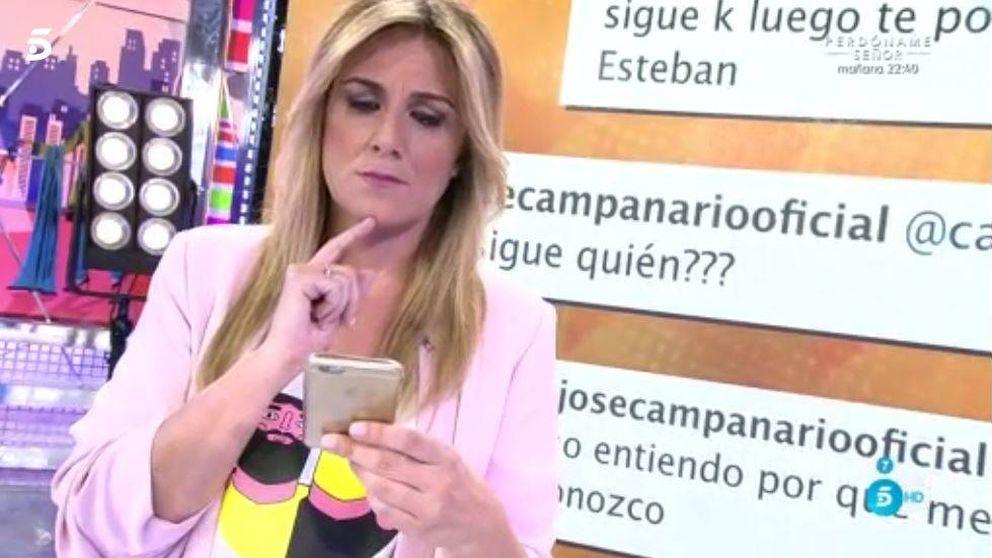 Carlota Corredera y Mª José Campanario, a la gresca por Instagram