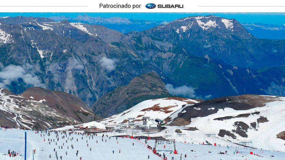 Foto: Les Deux Alpes, un gran destino de esquí de verano con vistas impresionantes (Foto: Les Deux Alpes)