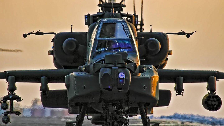 El Apache es otro de los aparatos que puede llegar a ser sustituido por los nuevos helicópteros diseñados en el programa Future Vertical Lift de EEUU