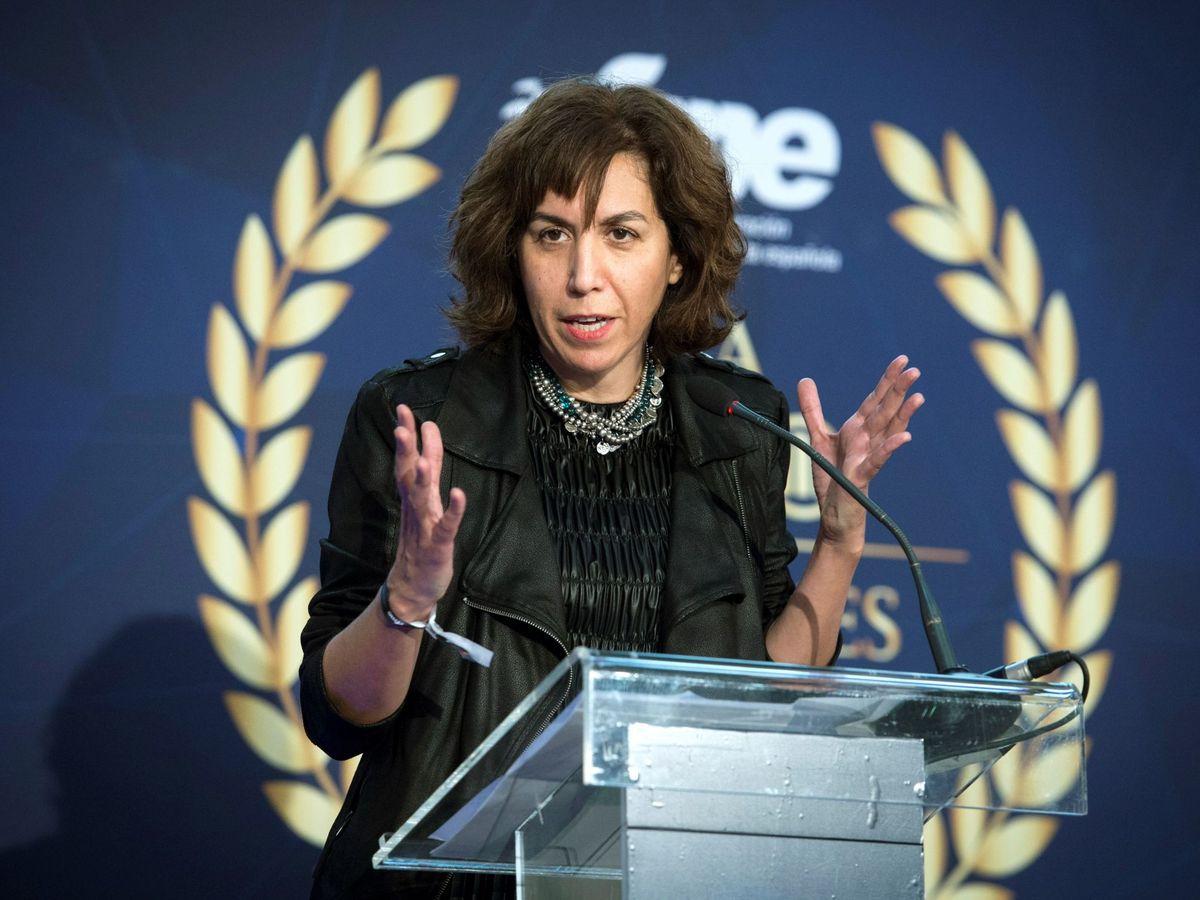 Foto: Irene Lozano, presidenta del Consejo Superior de Deportes. (EFE)