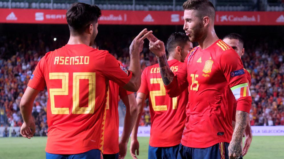 Foto: Los goles de España a Croacia en imágenes