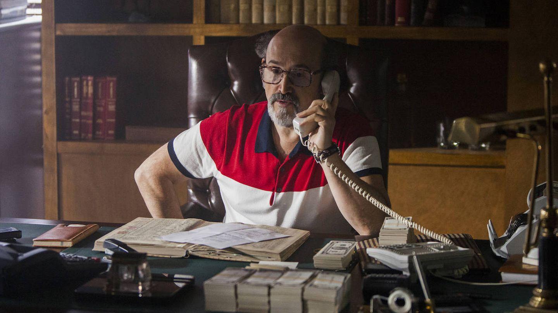 Javier Cámara en una imagen de la tercera temporada de 'Narcos'