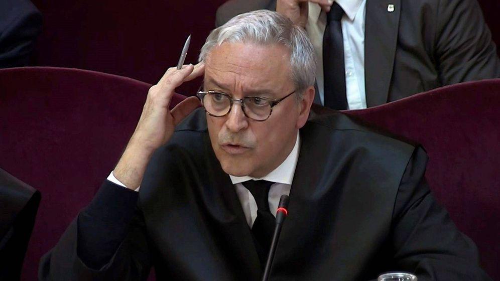 Foto: Xavier Melero, abogado de Joaquim Forn. (EFE)