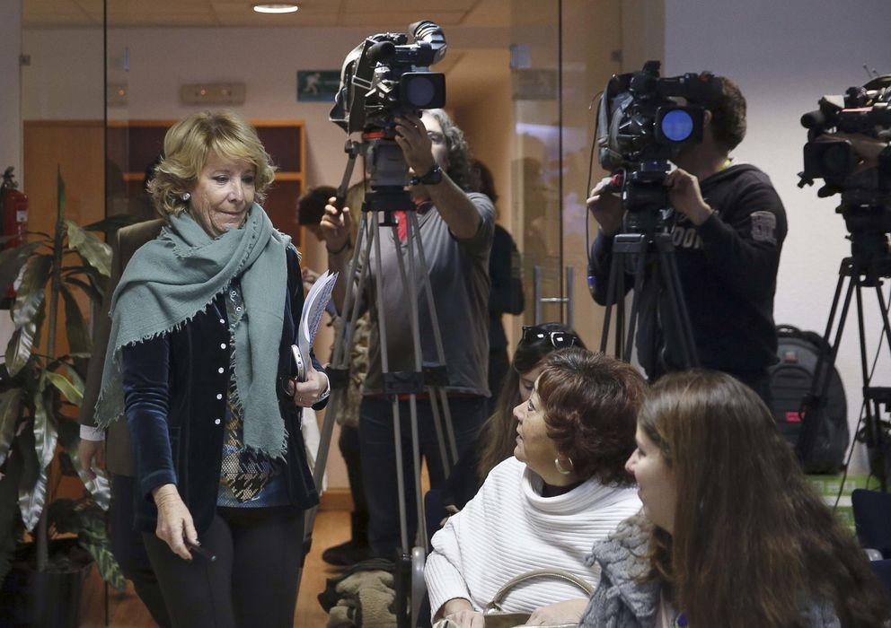 Foto: La presidenta del PP en Madrid, Esperanza Aguirre. (EFE)