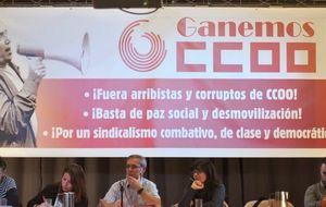 Las bases de CCOO se organizan para exigir la dimisión de Toxo