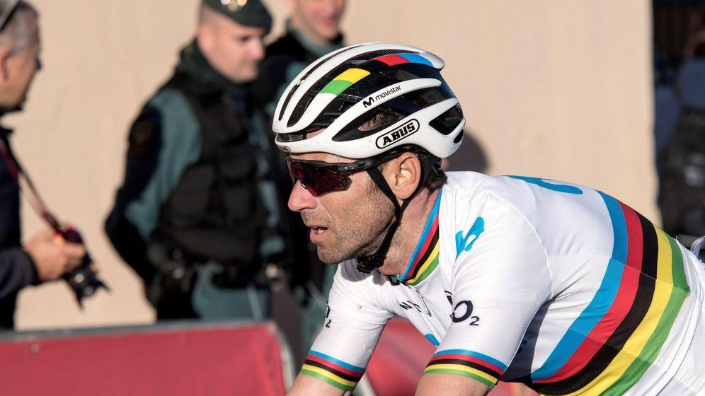Foto: Alejandro Valverde en la pasada edición de la Challenge de Mallorca. (EFE)