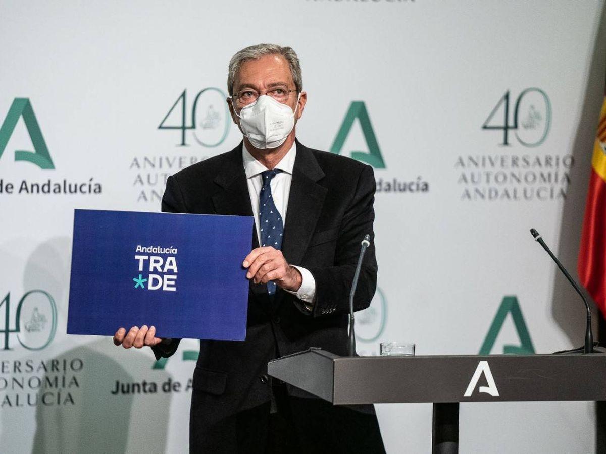 Foto: Rogelio Velasco, consejero de Transformación Económica de la Junta de Andalucía. (EFE)