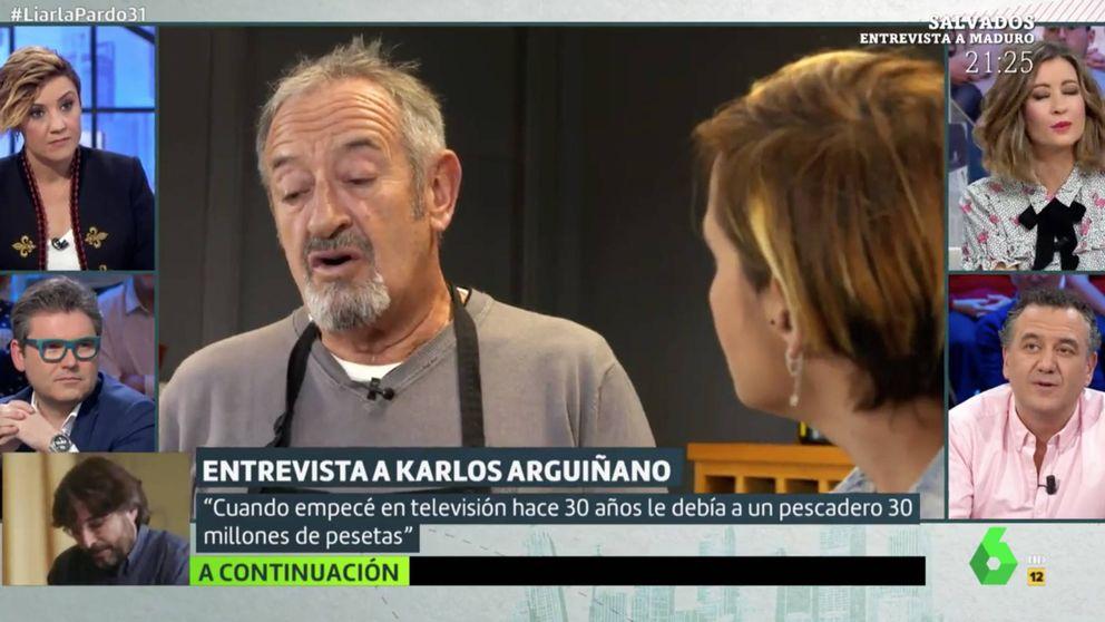 Arguiñano revela en 'Liarla Pardo' un pufo que le costó 30 millones de pesetas