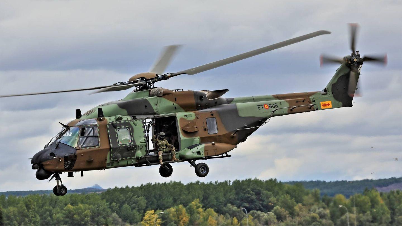 Helicóptero NH-90. (Juanjo Fernández)