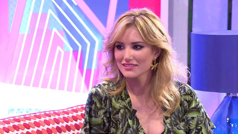 Alba Carrillo durante una de sus visitas a 'Sálvame Deluxe'. (Mediaset España)