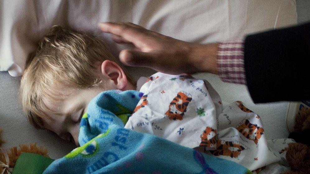Foto: Un niño diagnosticado con la enfermedad de Kawasaki en un hospital pediátrico de Florida. (Corbis)