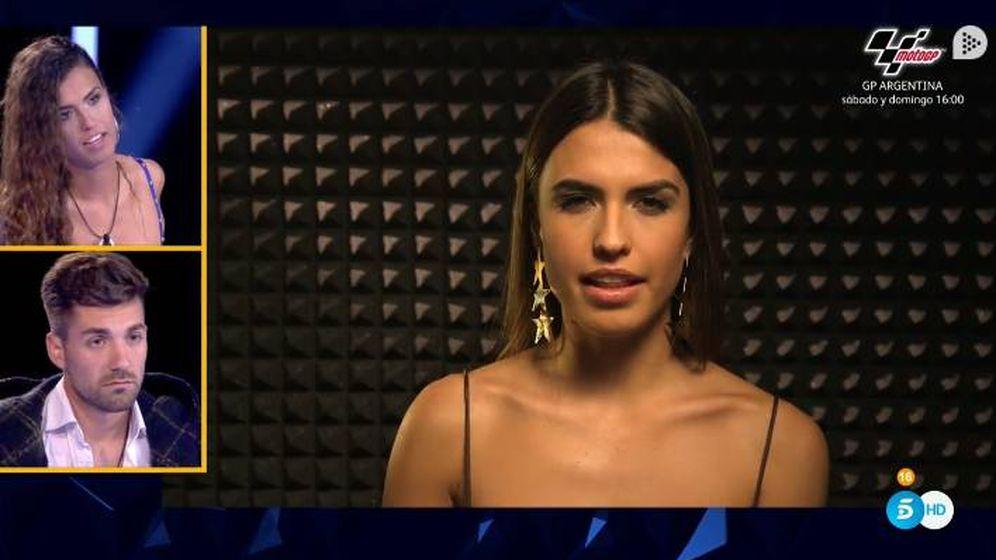 Foto: El vídeo de Sofía sobre la madre de Albalá en 'GH Dúo'. (Telecinco)