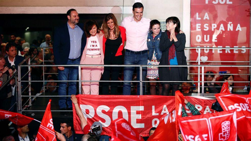 Calvo, Ábalos y Lastra: el núcleo duro de Sánchez negociará su investidura