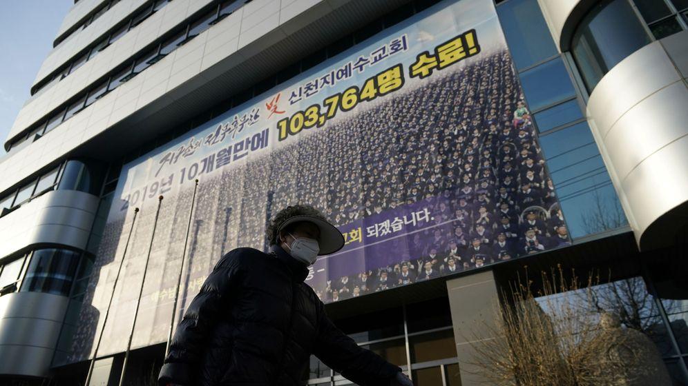Foto: Sede de la secta Shincheonji, en Daegu. (Reuters)