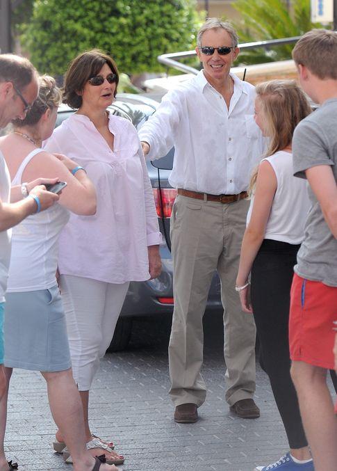 Blair y su mujer en 2012 (Gtres)