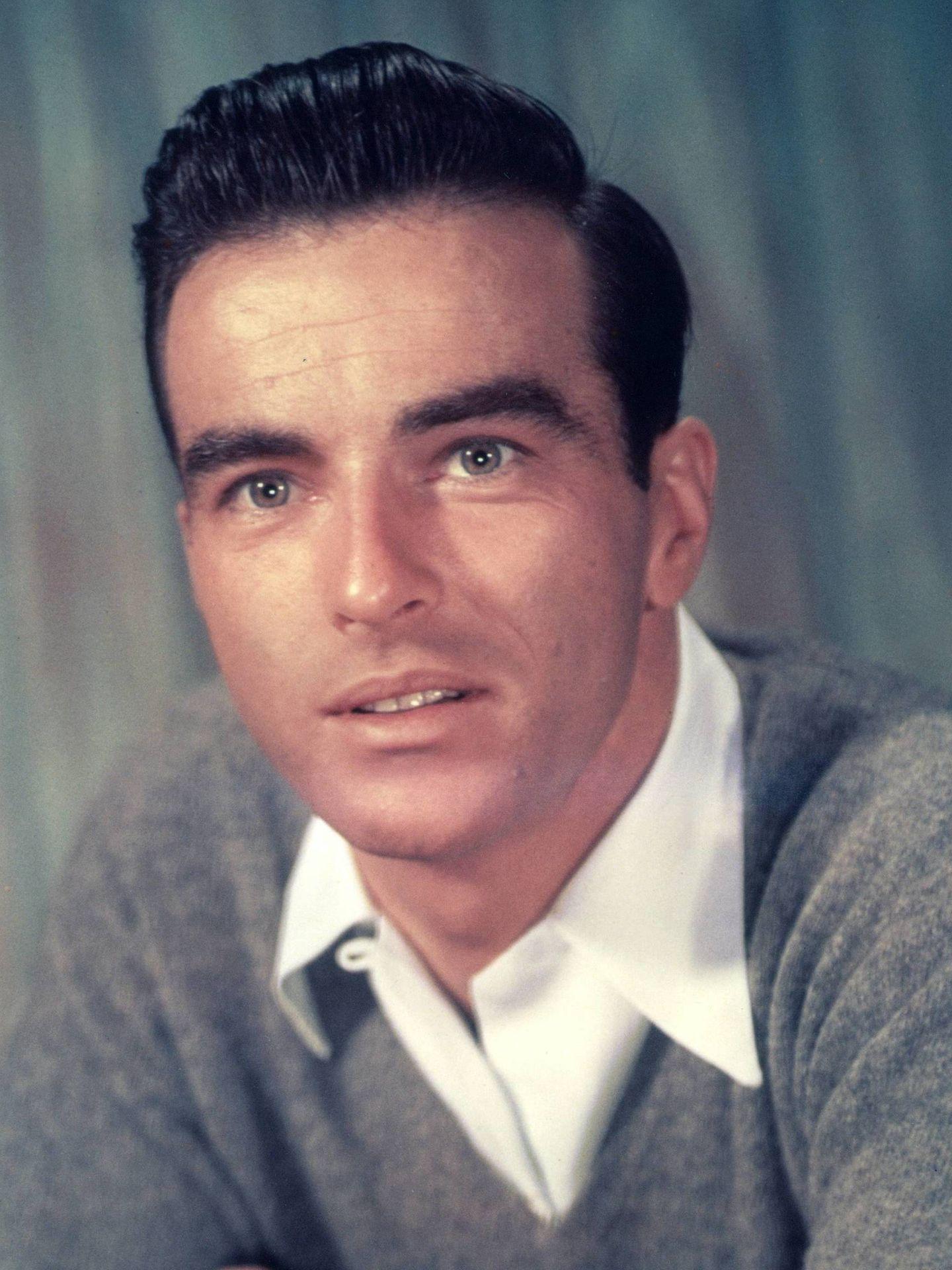 El actor, en una fotografía publicitaria de los 50 antes de su accidente. (Cordon Press)